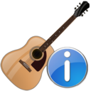 guitar,info,instrument icon