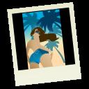 pic, picture, polaroid, image, photo icon