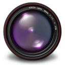 , Aperture, Authentic, Purple icon