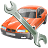 vehicle, transportation, car, automobile, repair, transport icon