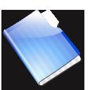 aqua,folder icon