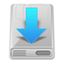 down,hdd icon