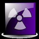 danger, emblem, toxic icon