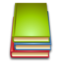 reading, book, stack, read icon