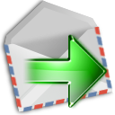next, forward, arrow, yes, mail, correct, right, envelop, message, email, ok, letter icon