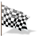 checkered, goal, complete, flag, finish icon