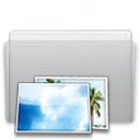 folder,picture,graphite icon