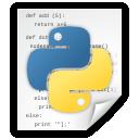 Application, File, Python icon