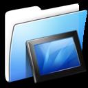 Aqua Smooth Folder Wallpapers icon