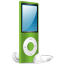 Green, Ipod, Nano, On icon