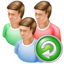 reload, group icon