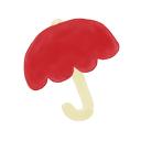 umbrella, ak icon