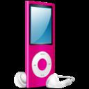 iPod Nano pink on icon