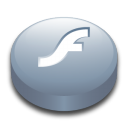 macromedia, player, flash icon