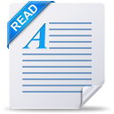 readme, document, read, text, file icon