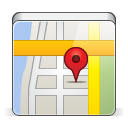 apple, app, map, festival icon