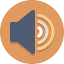 speaker, audio, volume icon