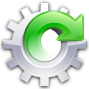 Forward, Gear, Spin, Update icon