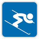 Alpine, , Skiing icon