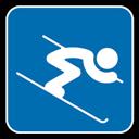 Alpine, , Skiing icon