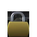 overlay, lock icon