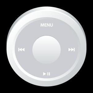 ipod, white, badge icon