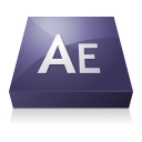 adobe, effects, after icon