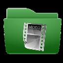 videos,folder icon