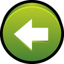 previous, back, start, backward, left icon