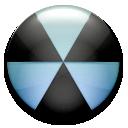 nuclear, burn, radiation icon