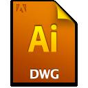 Ai, Document, Dwgfile, File icon