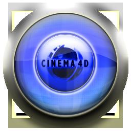cinema, blue icon