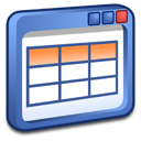 windows, table icon