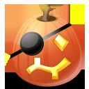 pumpkin, halloween, pirate, jack o lantern icon