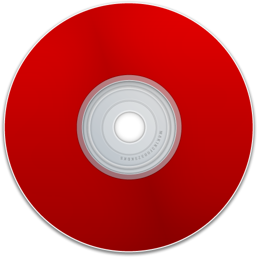 cd, dvd, disk, save, disc, blank, red, empty icon