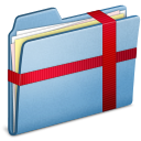 Blue, Package icon