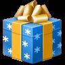 gift, present, christmas icon
