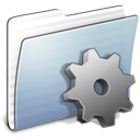 developer, stripped, folder, graphite icon