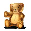 lv, artdesigner, teddy icon
