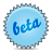 beta, lightblue, splash icon