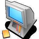 tos, computer, desk icon