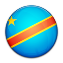 flag, congo, democratic, republic, country icon