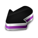 Arrow Purple icon
