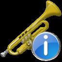 Info, Trumpet icon