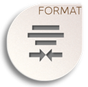 format justify center icon