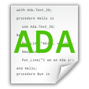 Ada, File icon