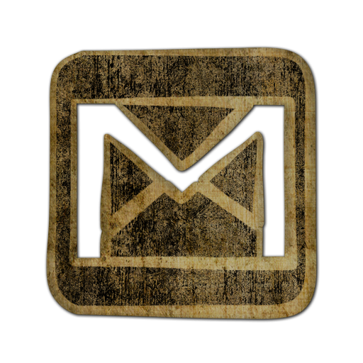 gmail, square, logo icon