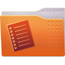 Places folder text icon