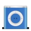 ipod, festival, blue, apple, nano icon