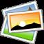 gnome,emblem,photo icon